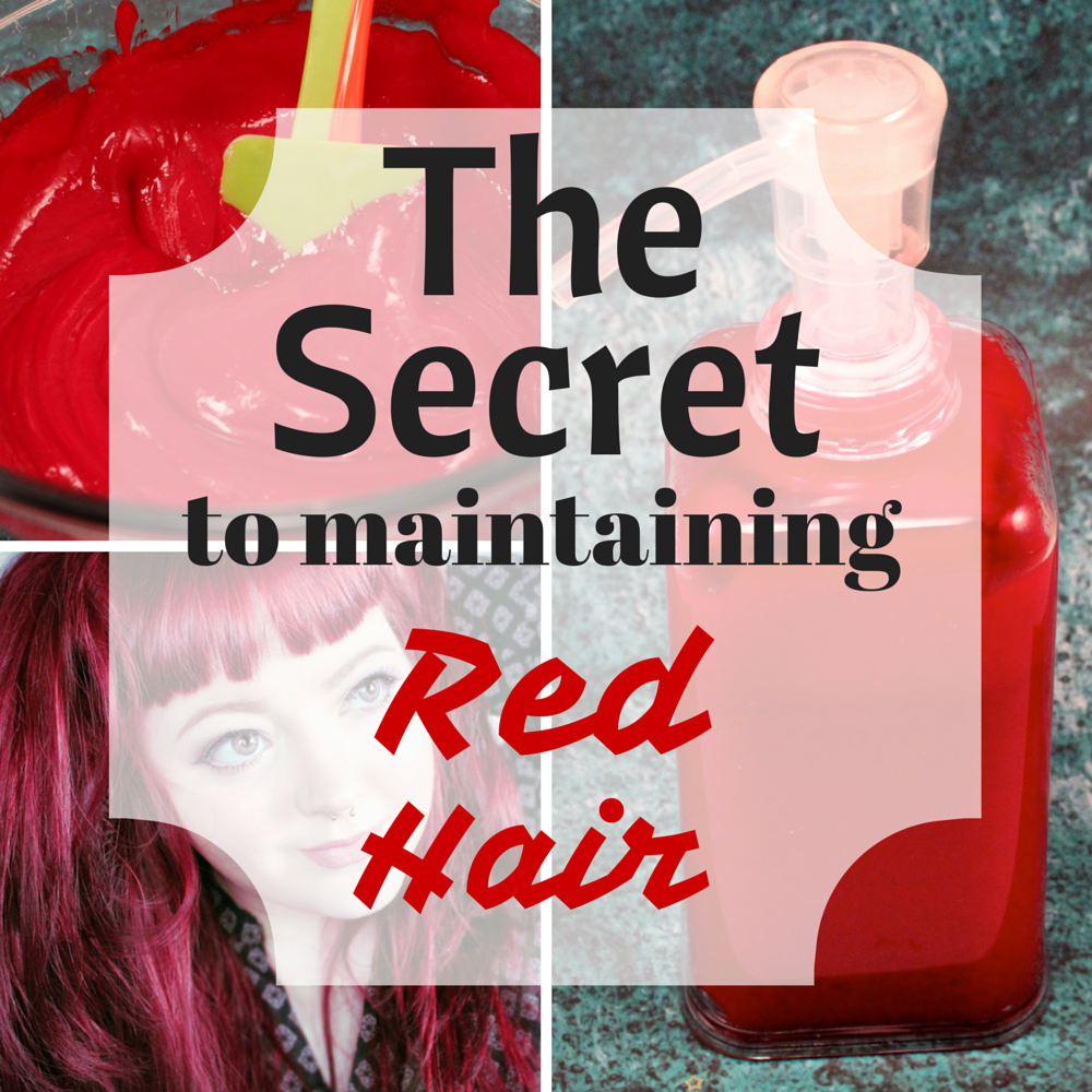 how to keep bright red hair from fading