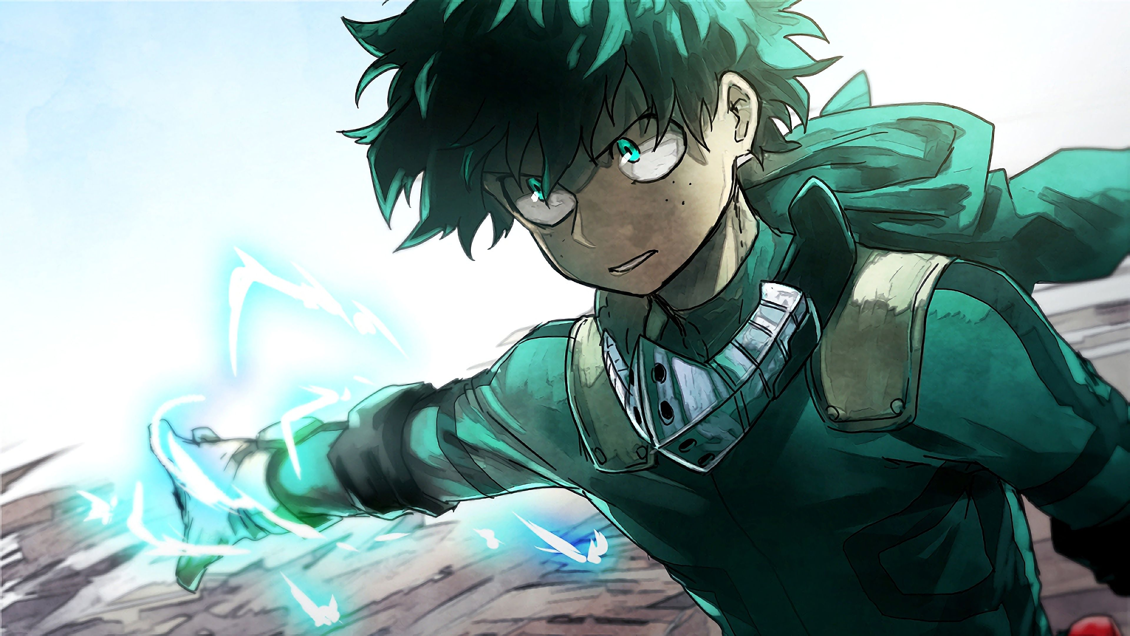 Izuku Midoriya My Hero Academia Boku No Hero Academia Anime 3840x2160 Wallpaper My Hero Boku No Hero Academia My Hero Academia