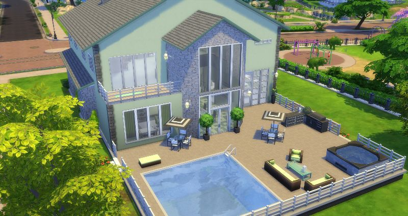 Building Challenges In The Sims 4 Sims 4 House Building Home