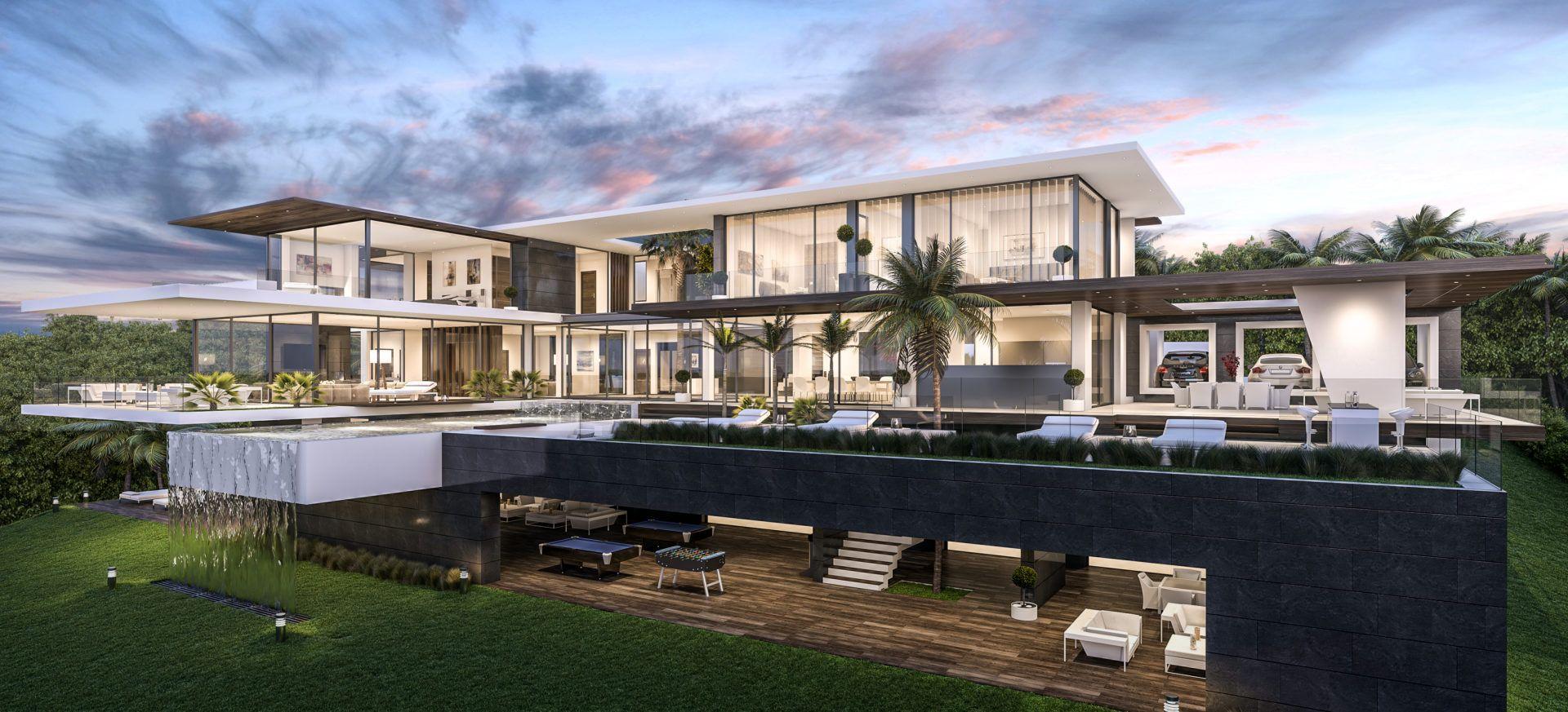Spectacular Project In La Zagaleta Modern Villas Luxury Homes Dream Houses Luxury Villa Design Modern Villa Design