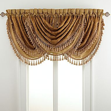 Jcpenney Valance Waterfall Valance Jcpenney Curtains