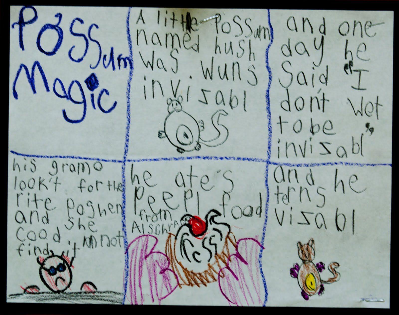 Possum Magic Story Line So Gorgeous