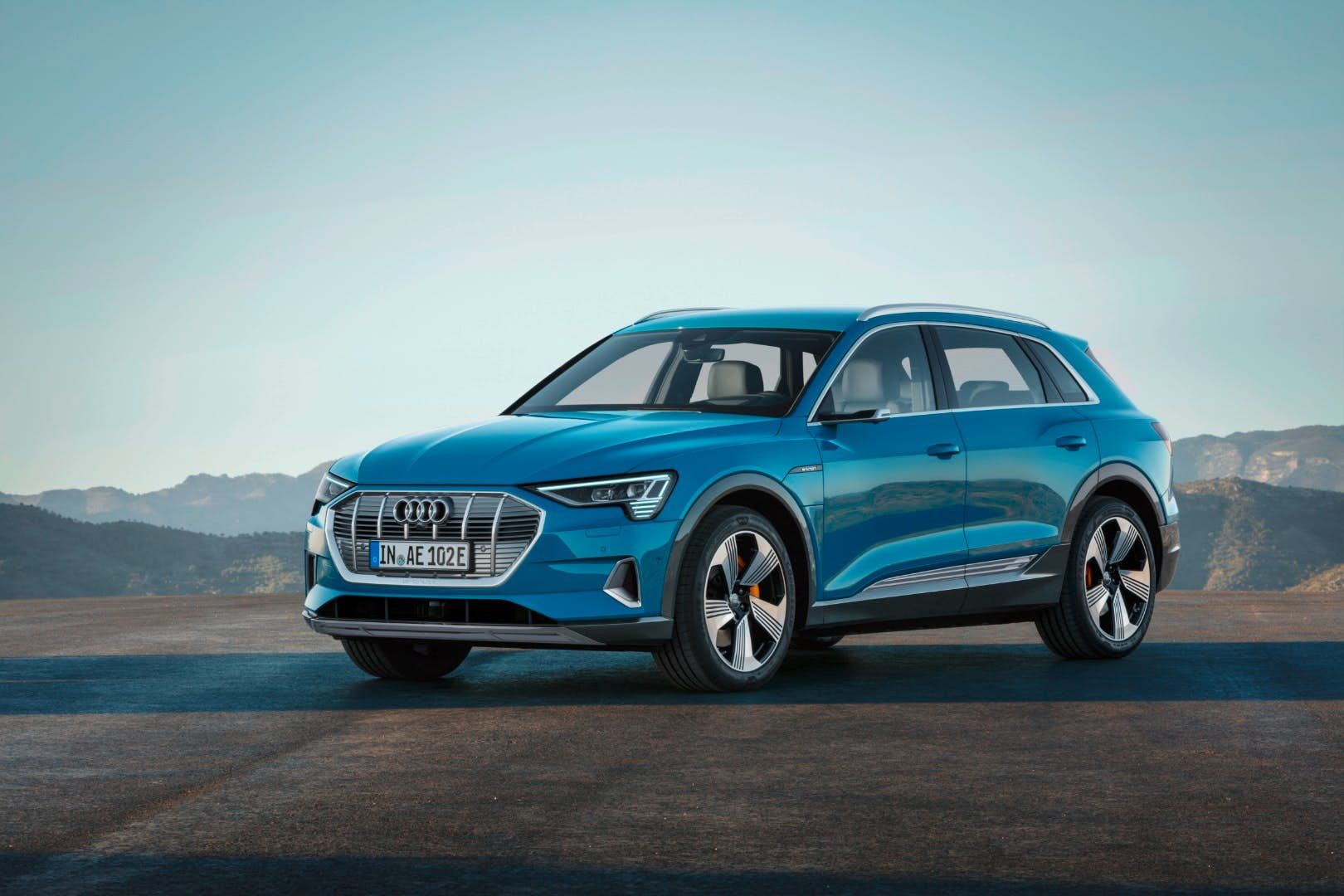 2019 Audi E Tron Imagines Electric As The New Ordinary Audi All Electric Cars Sporty Suv