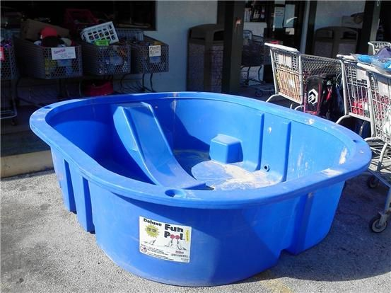 Kids Pools Hard Plastic Plastic Pool Kiddie Pool Homemade
