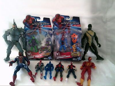 #Spiderman lot of 10 figures #marvel #official new & used rhino etc,  View more on the LINK: 	http://www.zeppy.io/product/gb/2/201485026786/
