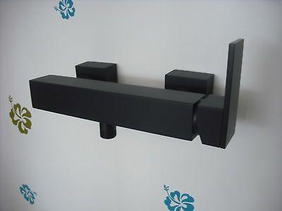Steinberg Brause Einhebelmischer schwarze Armatur Brausearmatur - armatur k che schwarz