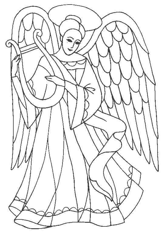 Glass Sticker Patterns Dyes Coloring Books Stencils Glass Painting Winter Designs Angels Angel Coloring Pages Coloring Pages Coloring Pages To Print
