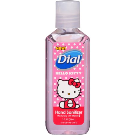 Dial Hello Kitty Hand Sanitizer 2 Fl Oz Hand Sanitizer