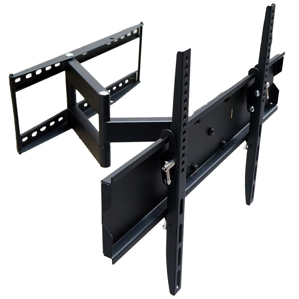 mount it 32 65 inch tv swivel wall mount wall mount extensions and tv mounting. Black Bedroom Furniture Sets. Home Design Ideas