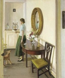 Harold Harvey -  The Letter,1937 The Athenaeum