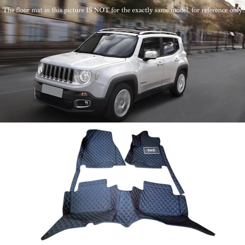 For Jeep Renegade 2016 2017 Car Accessories Floor Mats Carpets