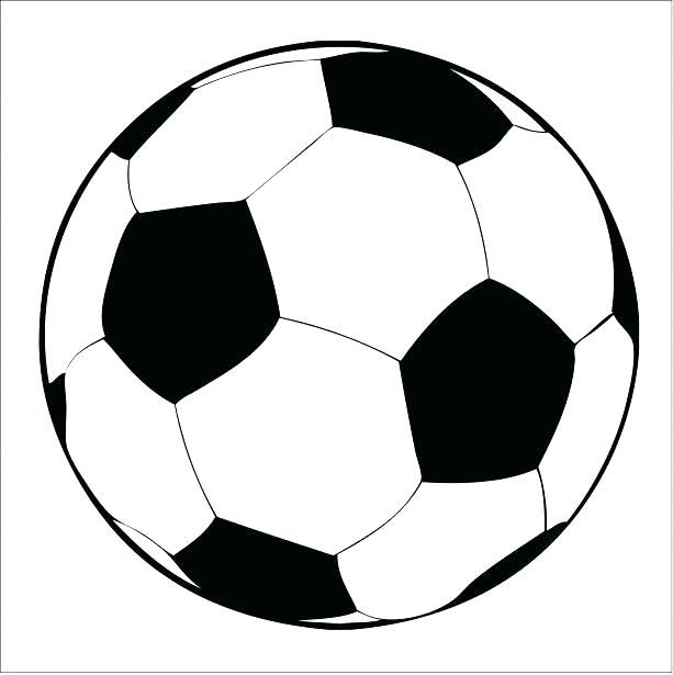 Printable Soccer Balls Ball Template Cake Free Football Pattern Paper Images