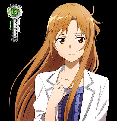Sword Art Online Asuna Yuuki White Suit Hd Render In 2021 Sword Art Online Asuna Art Sword Art