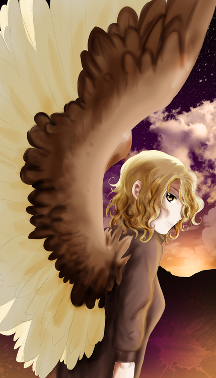 how to grow wings like maximum ride