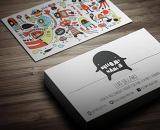 Multimedia Artist Business Card By Themeflava Via Creattica Business Card Design Creative Business Card Design Inspiration Art Business Cards
