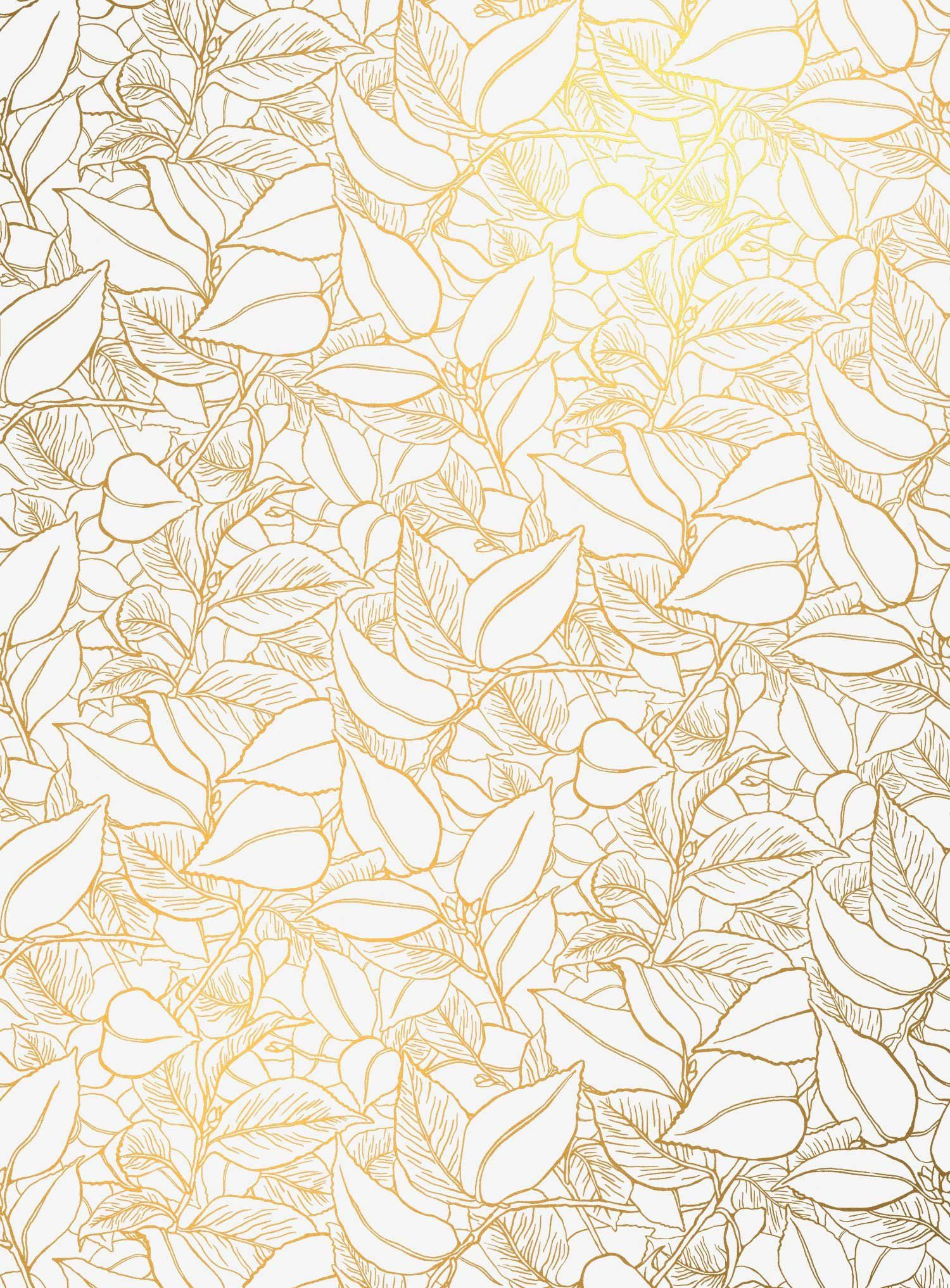Garden Wall Vellum Lake August Floral Wallpaper Vintage Flowers Wallpaper White And Gold Wallpaper