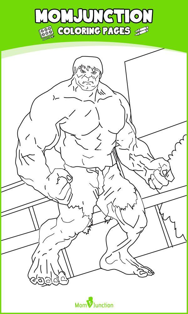 25 Popular Hulk Coloring Pages For Toddler Hulk Coloring Pages Coloring Pages Color