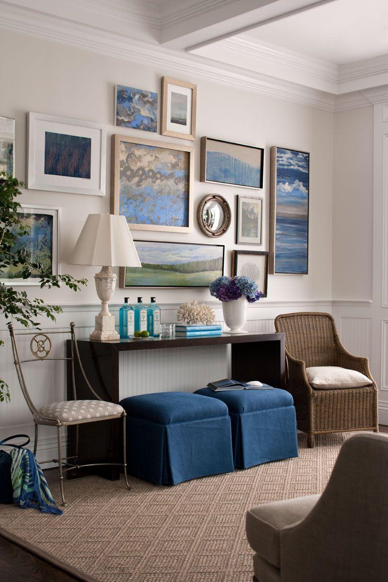 Especial copa 10 salas decoradas em tons de azul for Paredes decoradas