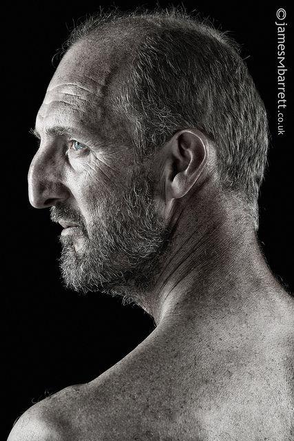 Edward Leece In Profile Face Profile Drawing Poses Male