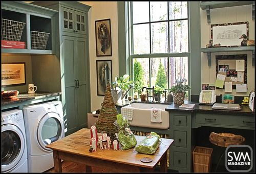 I want a laundry room like this one day.
