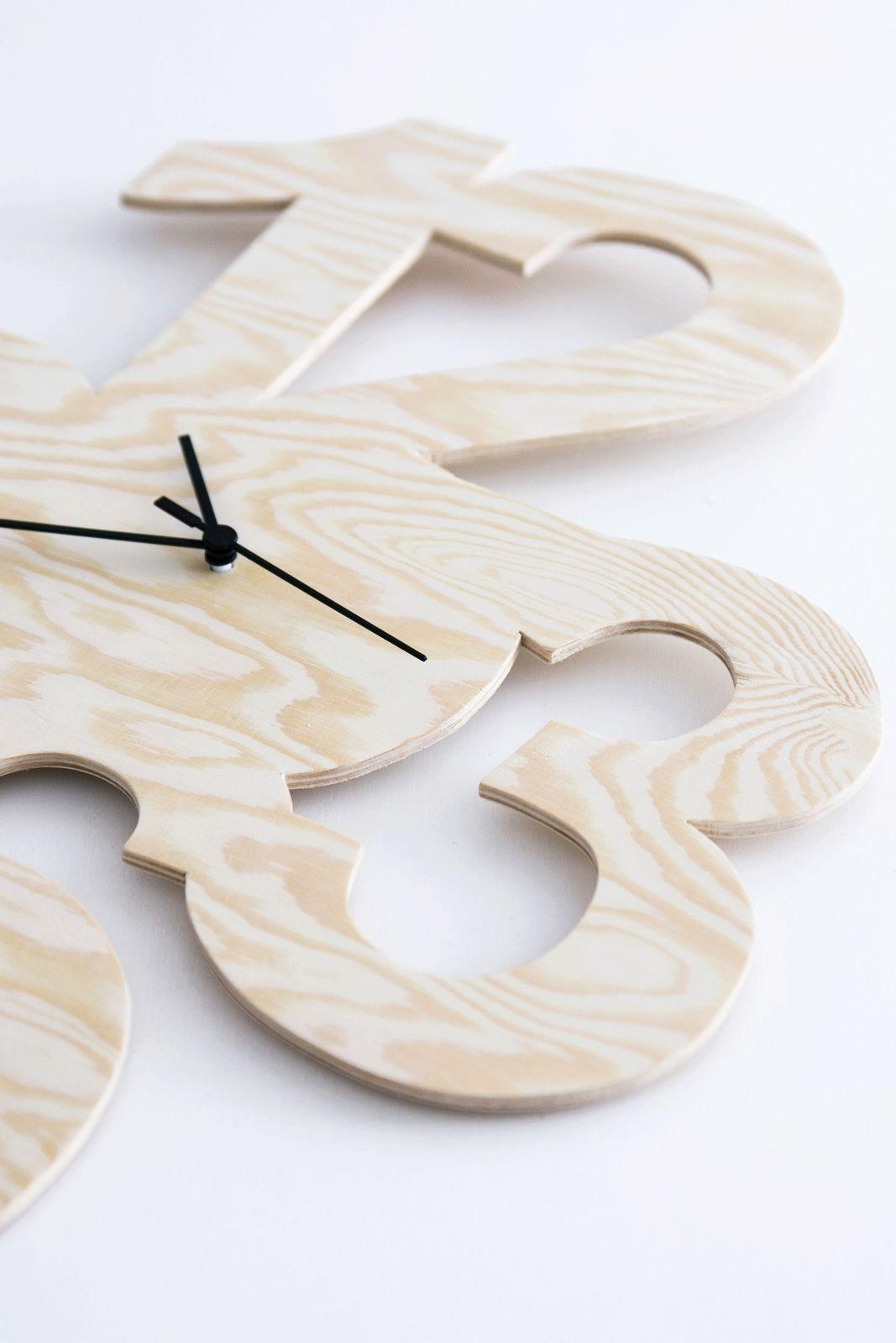 diy uhr aus kiefersperrholz holzige ideen pinterest diy uhr uhren und diy und selbermachen. Black Bedroom Furniture Sets. Home Design Ideas
