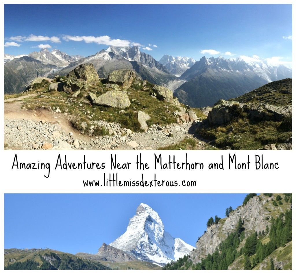 Join me in my Adventures near Matterhorn and Mont Blanc! It was some of the greatest scenery that I have ever seen!