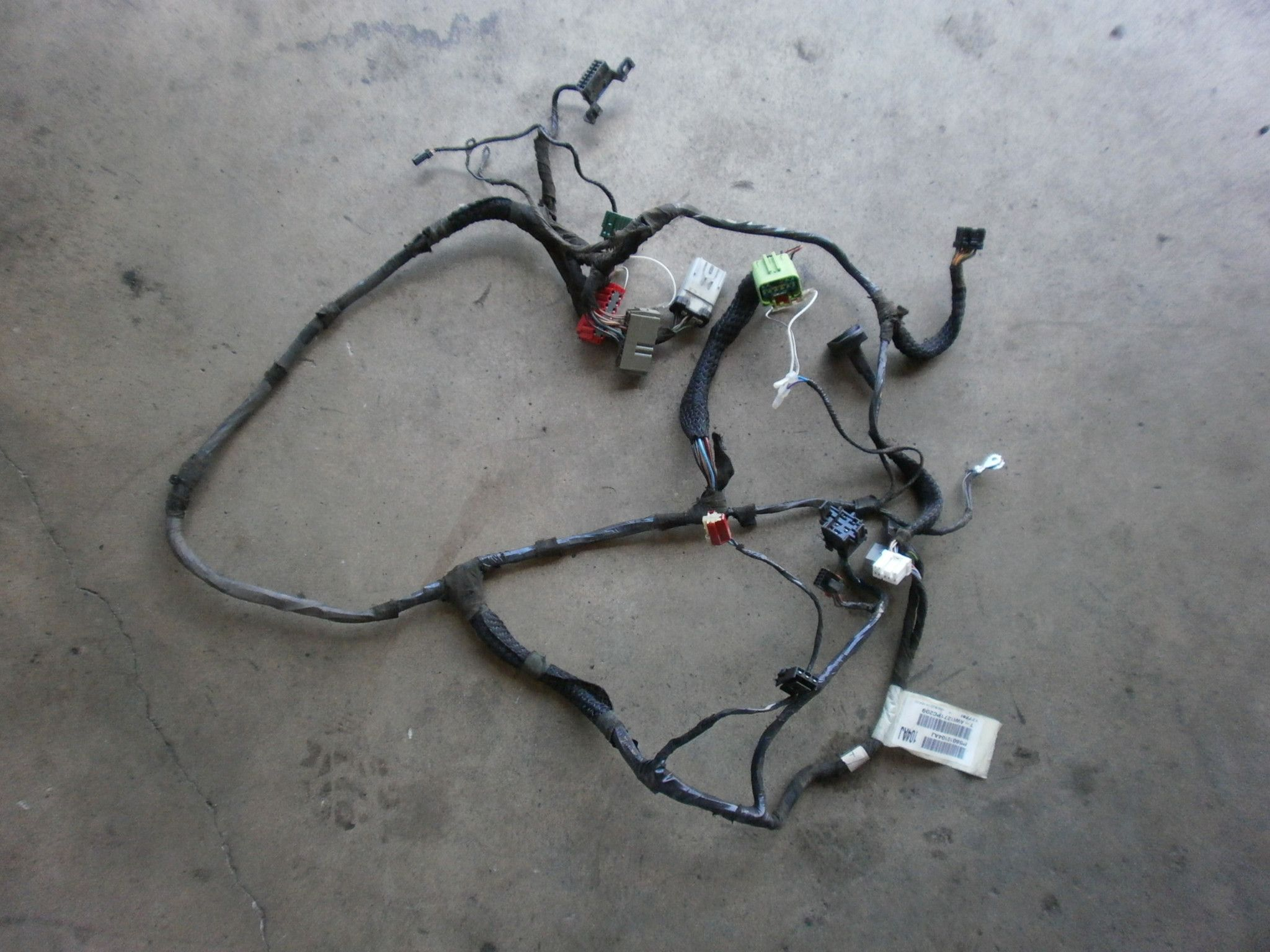 Jeep Wrangler Tj Instrument Panel Wiring Harness 2001 P56010104aj Oem Good Used 24 40