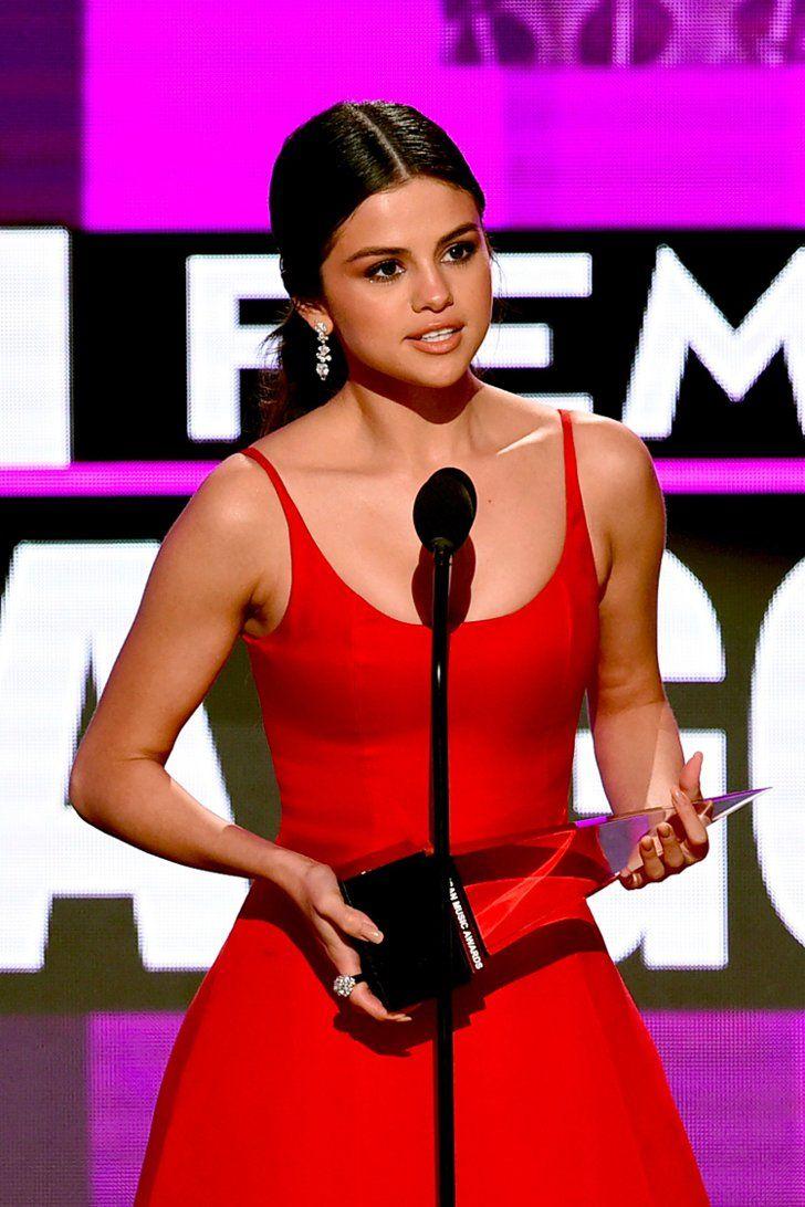 Selena Gomezs Speech At The 2016 American Music Awards -6160