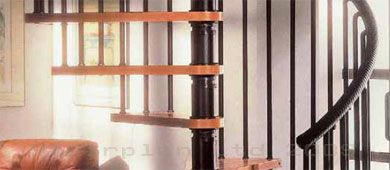 Best Gamia Wood Recanto Spiral Staircase Kits Spiral 640 x 480