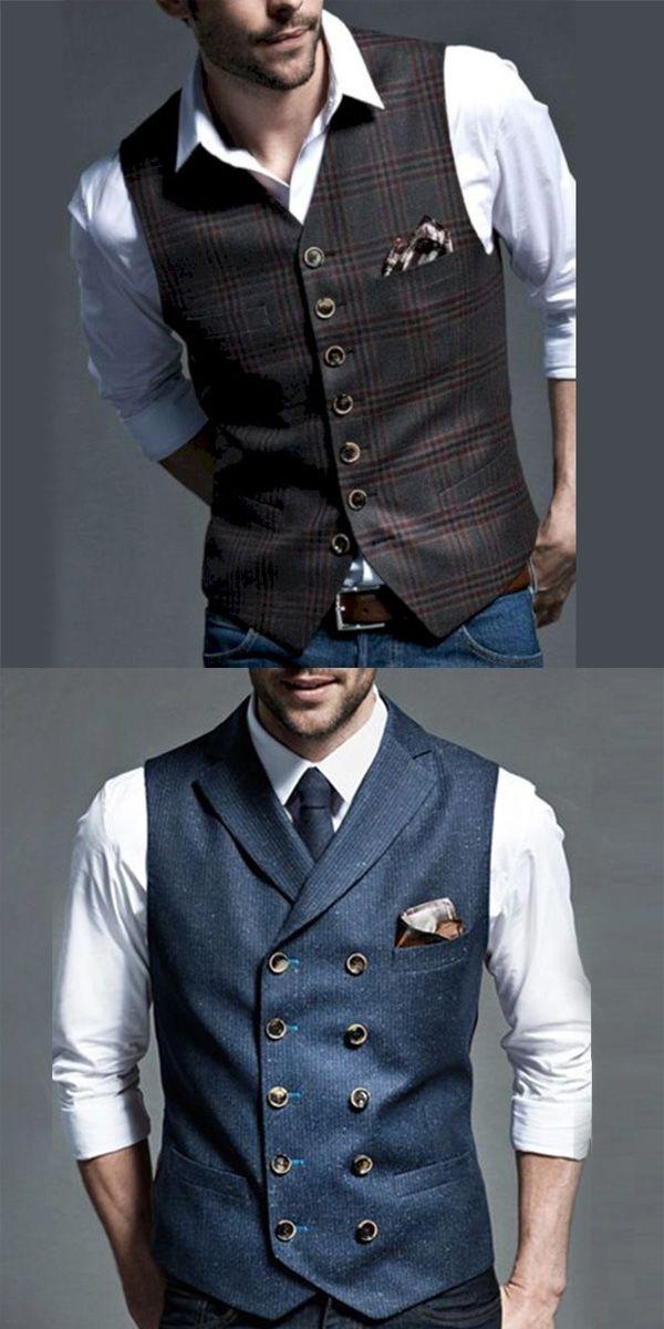 Fashion mens clothes, stylish mens vest , trendy style