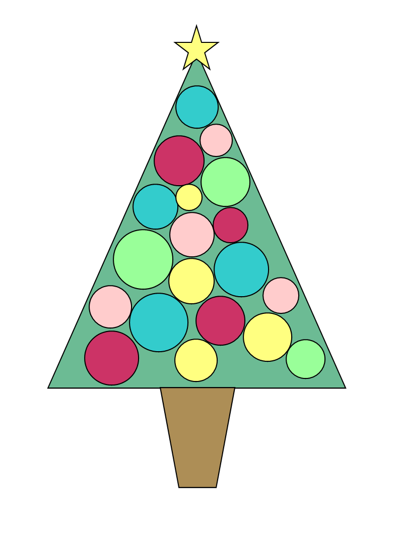 Christmas Tree Christmas Clipart Christmas Tree Pictures Cartoon Christmas Tree