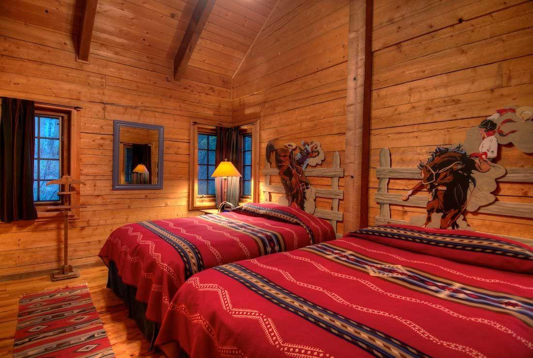 Cowboy Bunkhouse Interiors | Bunkhouse_Interior1 | Western ... on ranch duplex designs, ranch house designs, ranch pool designs, ranch kitchen designs, ranch bungalow designs, ranch office designs,