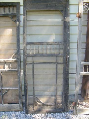 Can anyone else remember the sound an old wooden screen door made ...