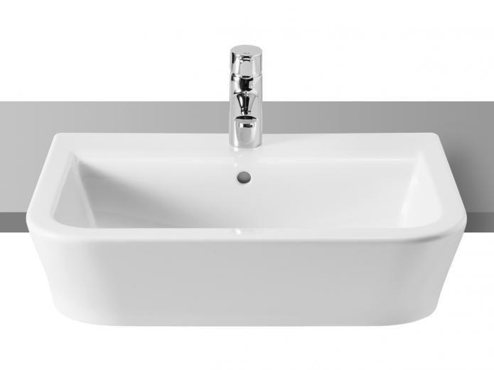 Roca Gap 9 Semi Recessed Basin | Reece Plumbing. | Bathroom ...