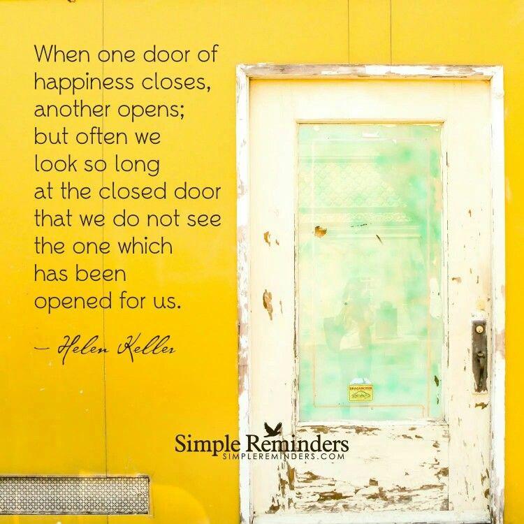 Just look to see wich door is open.
