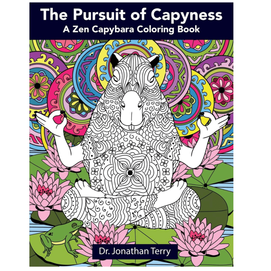 The Pursuit Of Capyness A Zen Capybara Coloring Book Now 6 20 Was 11 99 Swaggrabber Coloring Books Coloring Book Download Animal Coloring Books