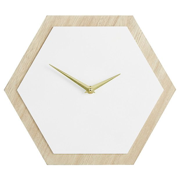 Pin By Liv Irene On On The Wall Clock Wall Clock Hexagon