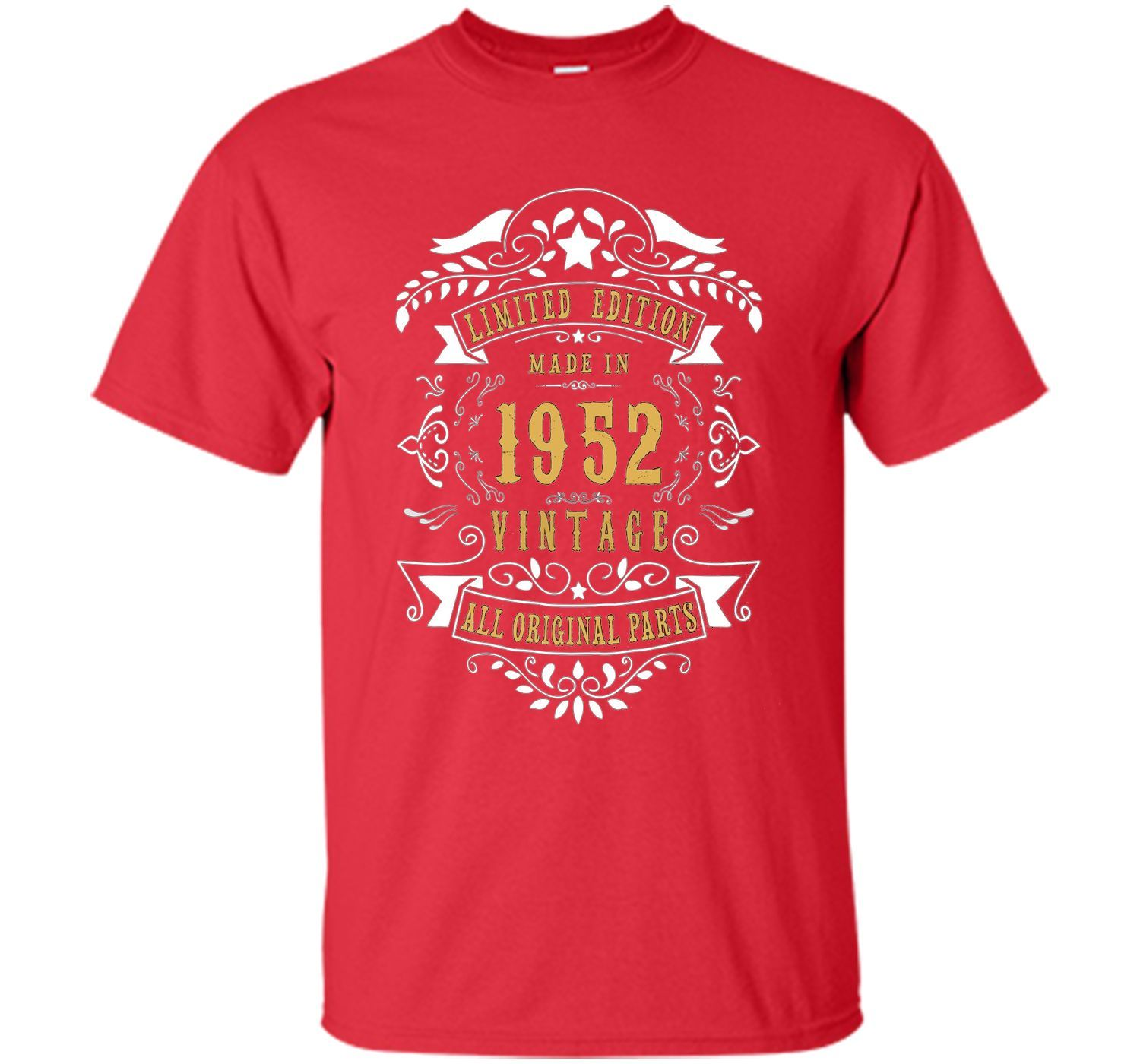65 Years Old Made Birth In 1952 65th Birthday Gift T Shirt