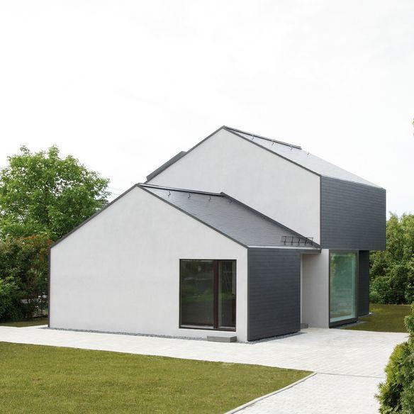 Faserzementtafeln von Eternit Architektur haus, Haus