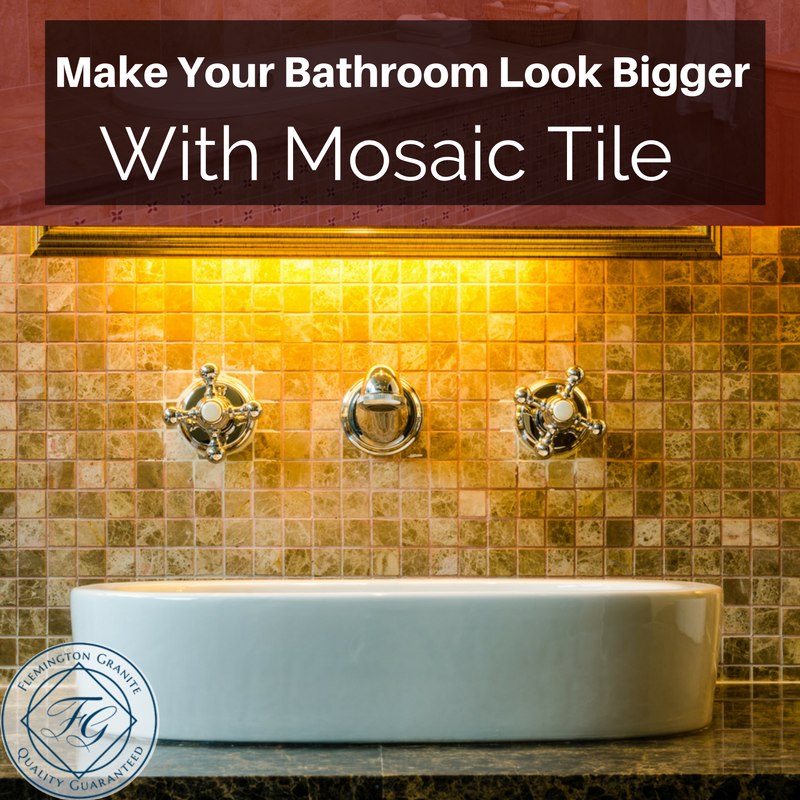 Make Your Bathroom Look Bigger With Mosaic Tile Bathroom Mosaic Tiles Tiles