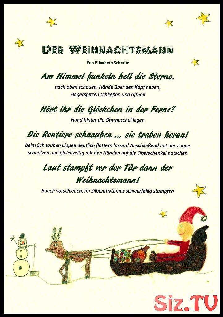Weihnachten Winter Vorweihnachtszeit Weihnachtsmann