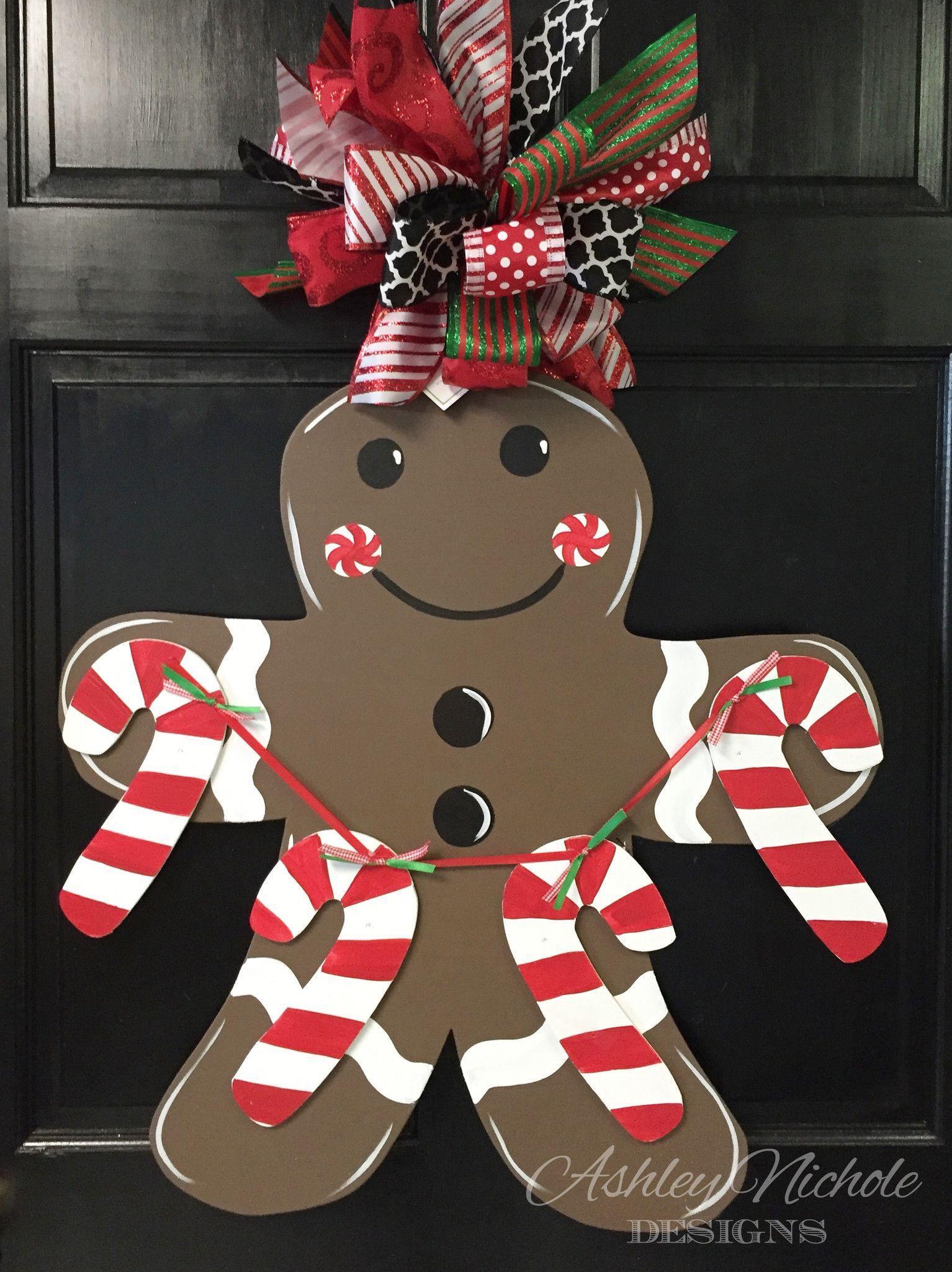 Gingerbread Man Christmas Pinterest