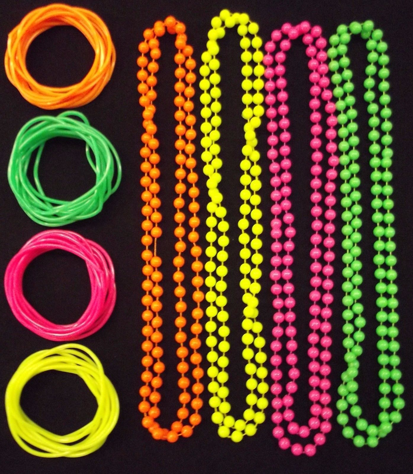 GUMMY BANGALS NECKLACE BEADS HEN PARTY