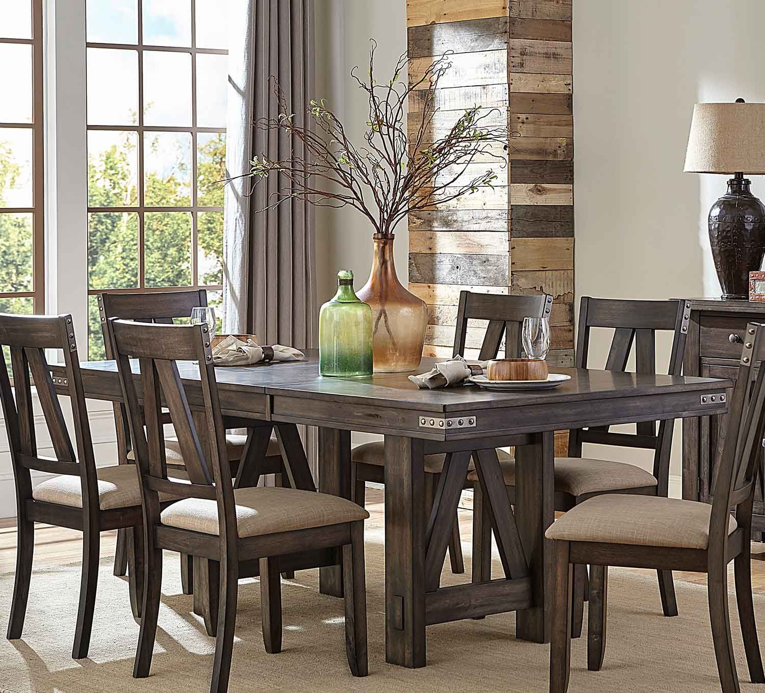 Homelegance Mattawa Rectangular Dining Table with Butterfly