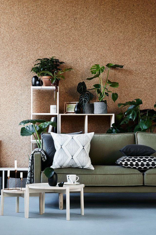 mur en liège | deco | Deco, Decoration et Déco salon