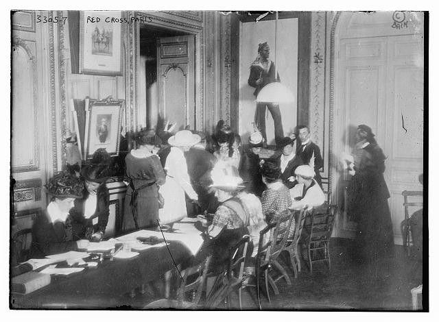 Photo of Paris Red Cross Number 8711 Vintage 18007