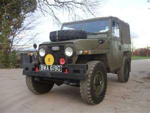 "1969 Land Rover "" Brawn """