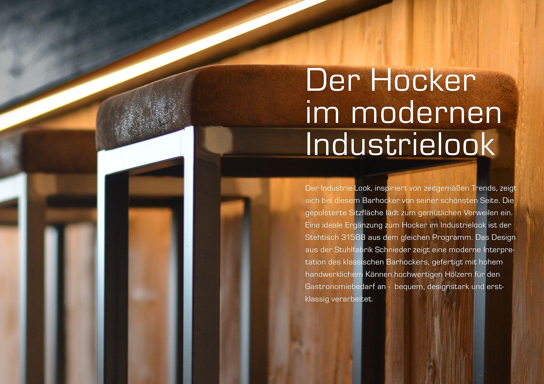 Der Hocker Im Modernen Industrielook Der Industrielook Inspiriert Von Zeitgemassen Trends Zeigt Sich Bei Diesem Barhocker V Gastronomie Mobel Hocker Stuhle