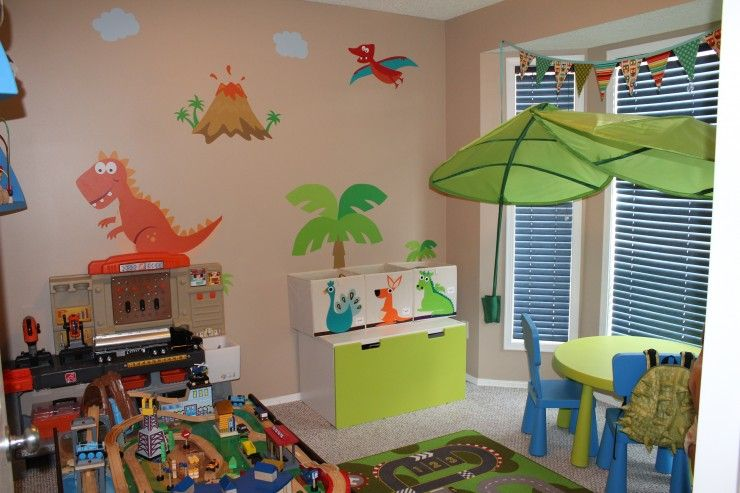 Room · interior design cheerful kids playroom ideas in colourful decoration