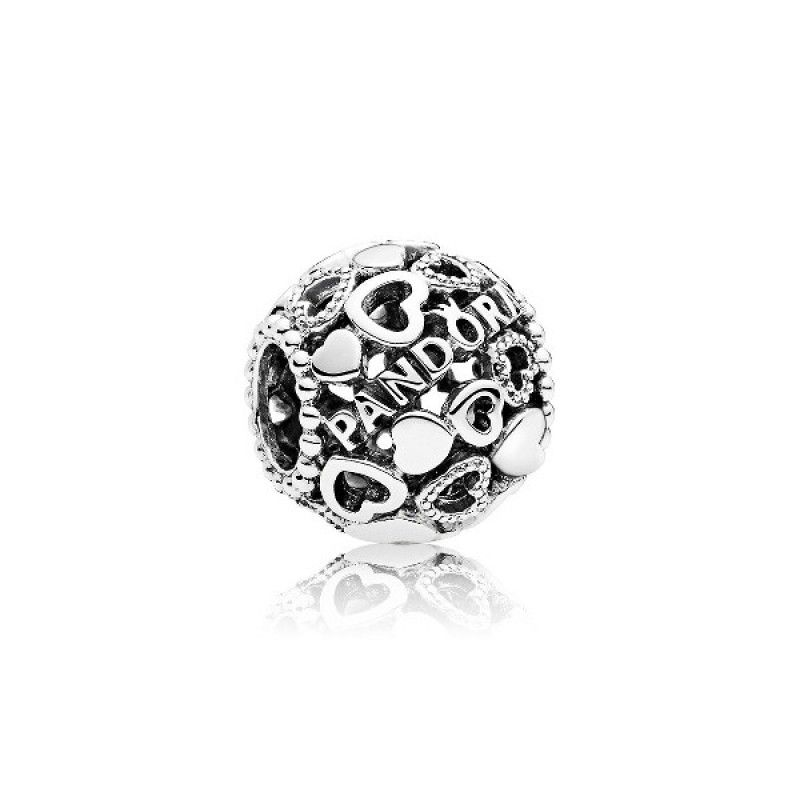 Pandora Women Silver Bead Charm - 796461 Een7S